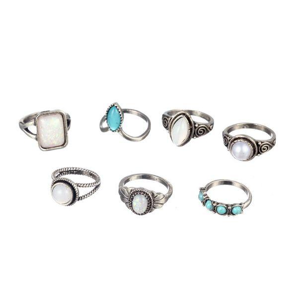 Alloy Fashion  Ring  (Sku6151) NHGY1929-Sku6151