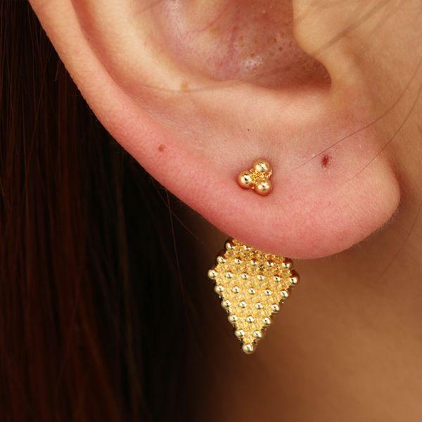 Alloy Fashion Geometric earring  (Sku6147) NHGY1943-Sku6147