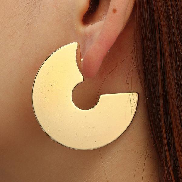 Alloy Simple Geometric earring  (Sku6144) NHGY1944-Sku6144