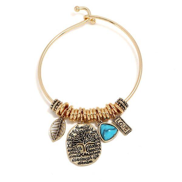 Alloy Vintage  bracelet  (Alloy) NHNZ0524-Alloy