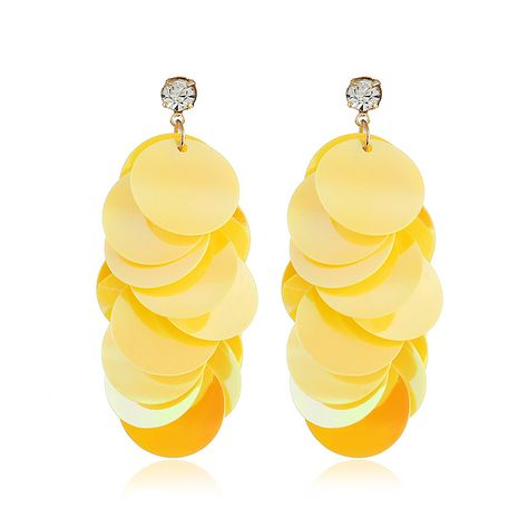 Acrylic Fashion Geometric earring  (yellow) NHVA4995-yellow's discount tags