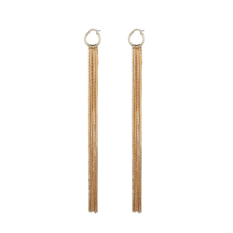 Alloy Fashion Tassel earring  (Earrings-1) NHQD5351-Earrings-1