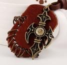 Alloy Fashion Geometric necklace  black NHPK1703black