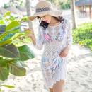 Lace Korea  coat  White  One Size NHXW0288WhiteOneSize