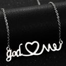 TitaniumStainless Steel Korea Geometric necklace  Rose alloy NHHF0082Rosealloy