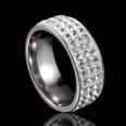 NHHF0001-Three-rows-of-silver-base-White-Diamond-6
