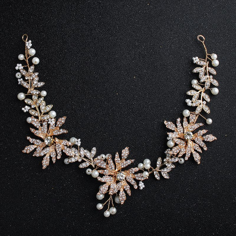Alloy Fashion Flowers Hair accessories  (Alloy) NHHS0397-Alloy