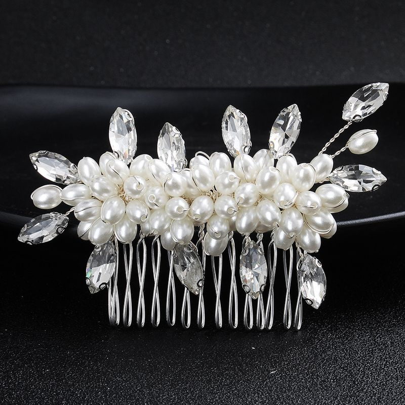 Alloy Fashion Flowers Hair accessories  (Alloy) NHHS0400-Alloy