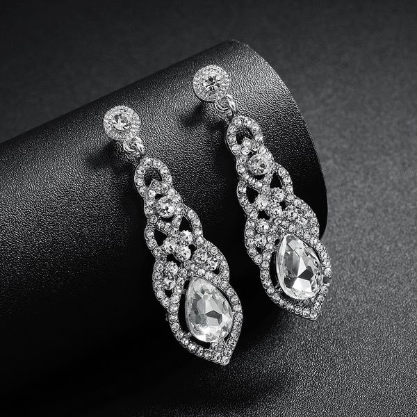 Alloy Fashion Flowers earring  (Alloy) NHHS0421-Alloy