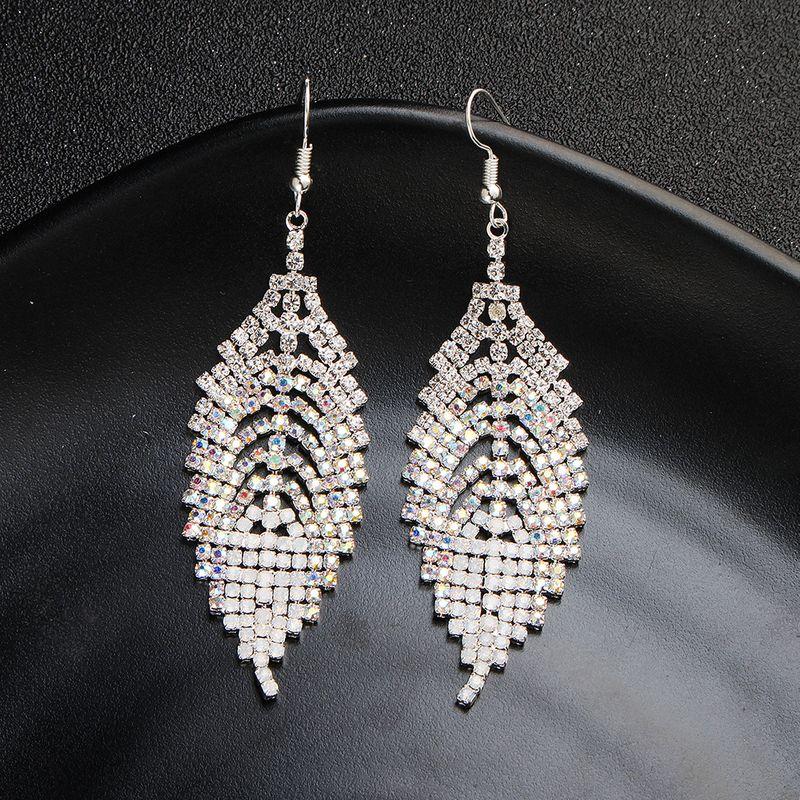 Alloy Fashion Geometric earring  (A) NHHS0438-A