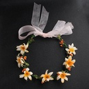 Cloth Fashion Flowers Hair accessories  yellow NHHS0415yellow