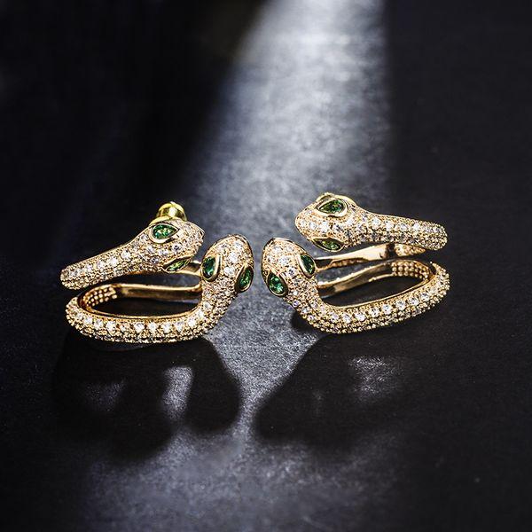 Copper Fashion Animal earrings  (Alloy left ear single) NHLJ3988-Alloy-left-ear-single