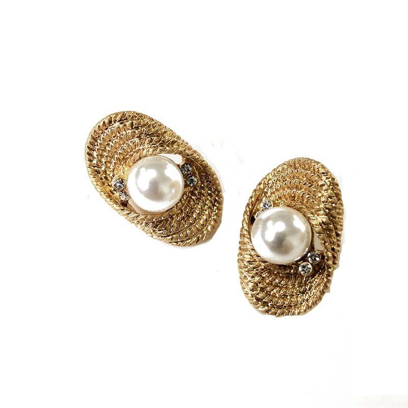 Alloy Vintage Geometric earrings  (Ear clip) NHOM0480-Ear-clip