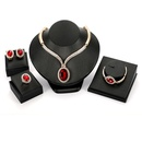 Alloy Fashion  The necklace  61174418 alloy NHXS160961174418alloy
