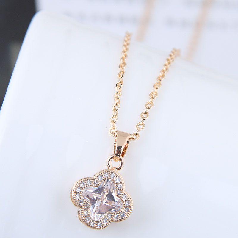 Alloy Korea necklace NHNSC11472