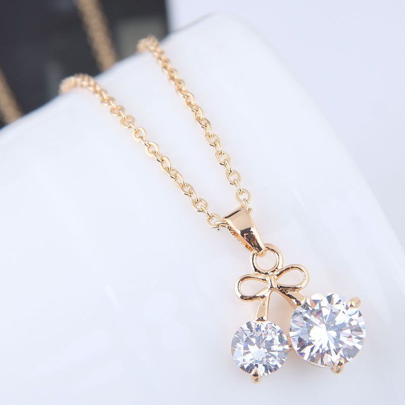 Alloy Korea necklace NHNSC11477
