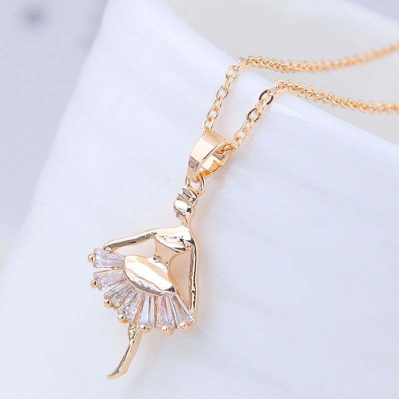 Alloy Korea necklace NHNSC11487