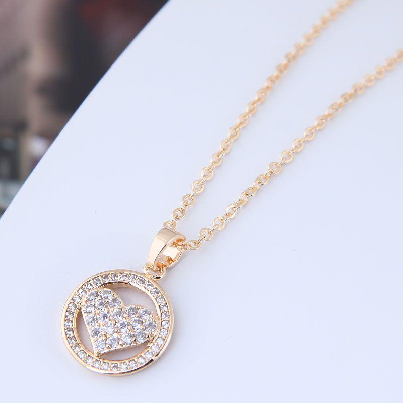 Alloy Korea necklace NHNSC11493