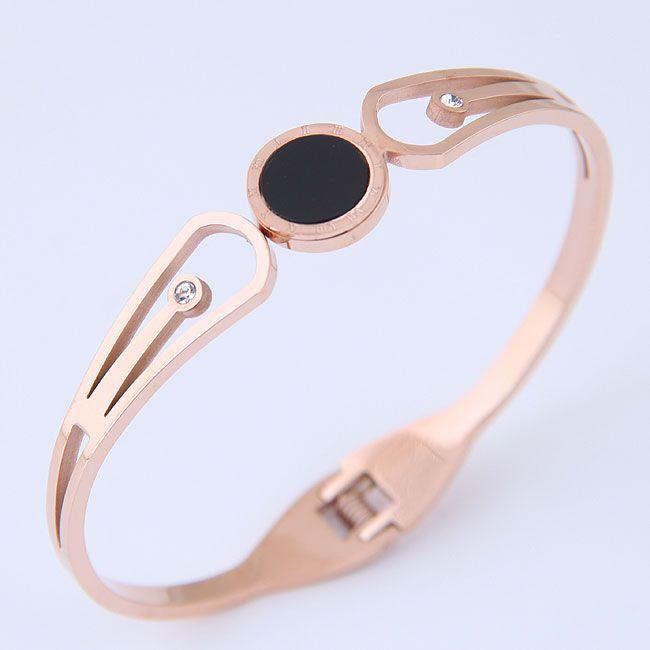 Bracelets fantaisie en titane et acier inoxydable NHNSC11600