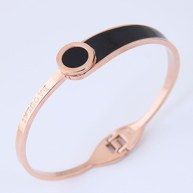 Bracelets fantaisie en titane et acier inoxydable NHNSC11670