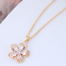Alloy Korea necklace NHNSC11491