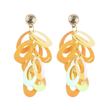 Alloy Fashion Geometric earring  (yellow) NHJQ10324-yellow's discount tags