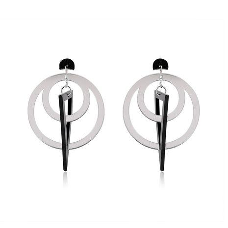 Acrylic Fashion Geometric earring  (61179427A Alloy Black) NHLP1005-61179427A-Alloy-Black's discount tags