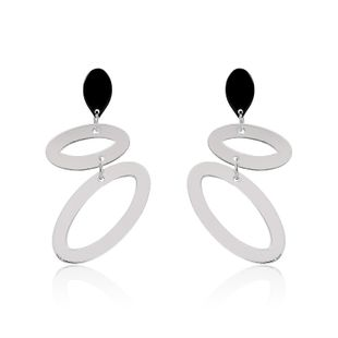 Acrylic Fashion Geometric earring  (61179429A White) NHLP1007-61179429A-White's discount tags