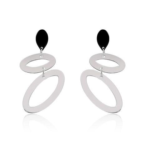 Acrylic Fashion Geometric earring  (61179429A White) NHLP1007-61179429A-White's discount tags