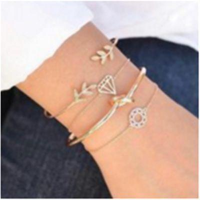 Alloy Vintage Geometric bracelet  (Main color) NHGY1856-Main-color