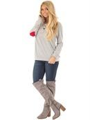 Cotton Fashion  Tshirt  GrayS NHYF1473GrayS