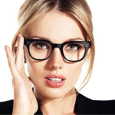 Alloy Vintage  glasses  (C4 light black) NHFY0138-C4 light black's discount tags