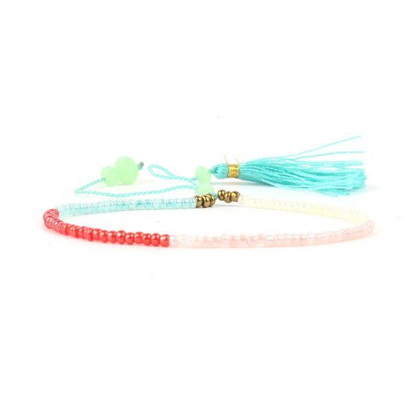 Imitated crystal&CZ Fashion Tassel bracelet  (HB561-A) NHGW0423-HB561-A