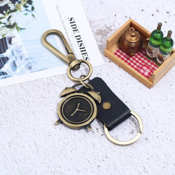 Alloy Vintage  key chain  (black) NHPK2037-black