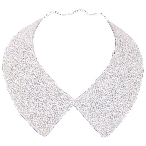 Cloth Fashion necklace NHNSC12143