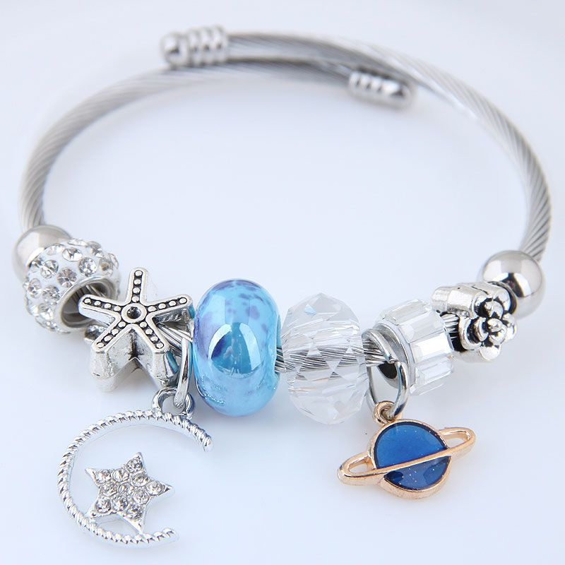 Alloy Fashion Bracelets NHNSC12156