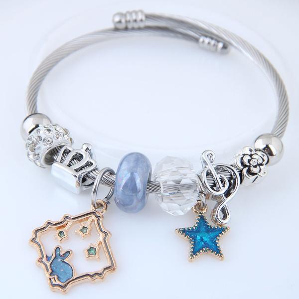 Alloy Fashion Bracelets NHNSC12160