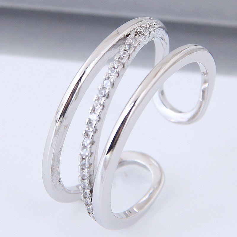 Alloy Fashion Ring NHNSC12378