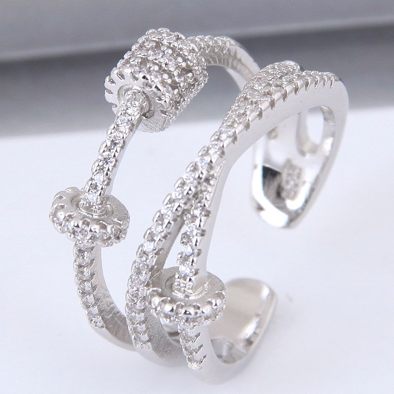 Alloy Fashion Ring NHNSC12385