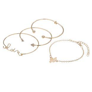 Alloy Fashion Geometric bracelet  (Alloy) NHBQ1484-Alloy's discount tags