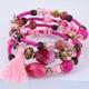 Alloy Fashion Bracelets NHNSC12147