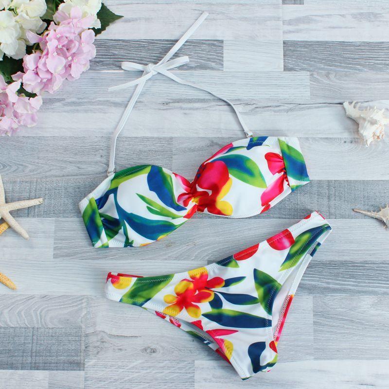 Polyester Fashion  Bikini  (Picture color -S) NHHL0465-Picture-color-S