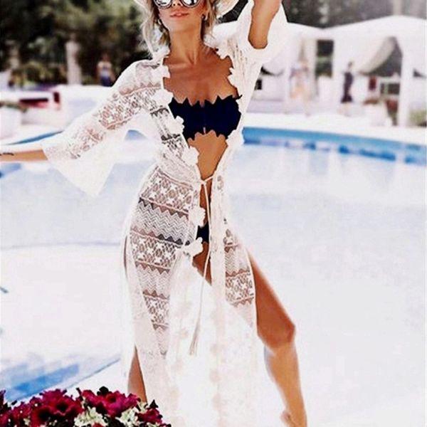 Polyester Fashion  Bikini  (White - One Size) NHXW0573-White-One-Size