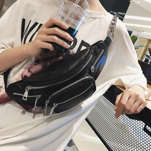 PU Korea  Shoulder Bags  (black) NHPB3976-black