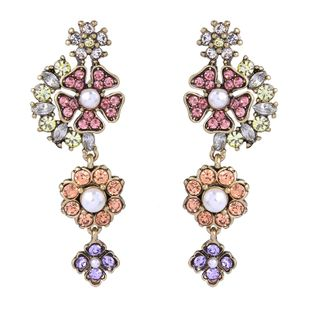 Alloy Vintage Flowers earring  (Photo Color) NHQD5410-Photo-Color's discount tags