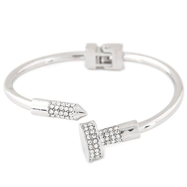 Alloy Rhinestone Bracelet NHNSC5398