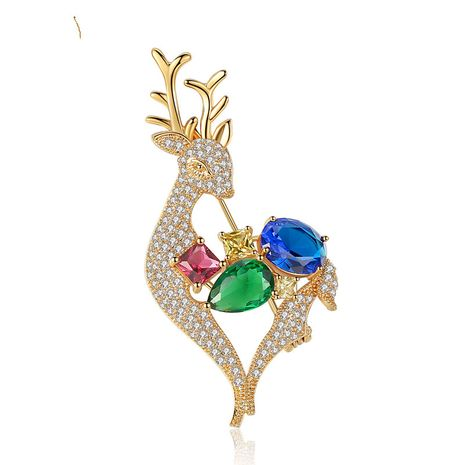 Alloy Fashion Animal brooch  (Color -20E09) NHTM0210-Color-20E09's discount tags