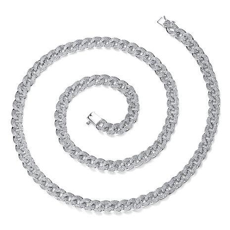 Alloy Fashion Geometric necklace  (Platinum-15C15) NHTM0240-Platinum-15C15's discount tags