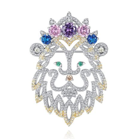 Alloy Fashion Animal brooch  (Platinum-20E02) NHTM0269-Platinum-20E02's discount tags