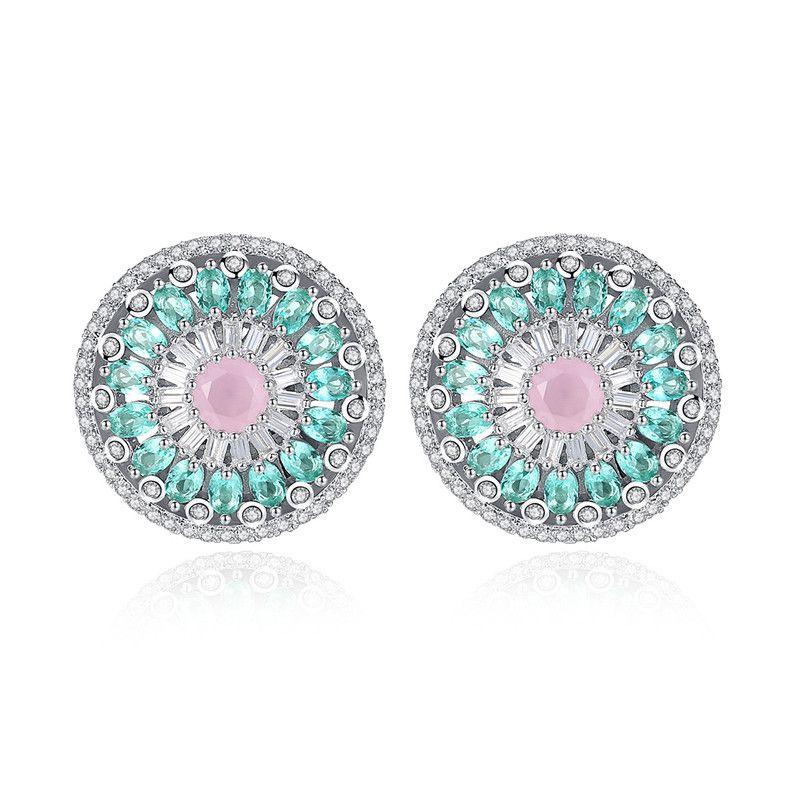 Alloy Korea Geometric earring  Platinum 06G12 NHTM0288Platinum06G12